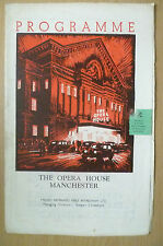 The Opera House Manchester 1951 Programme- HARLEQUINADE/THE NUTCRACKER