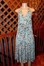 EVAN -PICONE STRETCH TRICOTINE / JERSEY  FABRIC  LADIES SUMMER DRESS SIZE 16