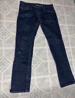 Burberry Brit Men's Dark Blue Jeans 33x32