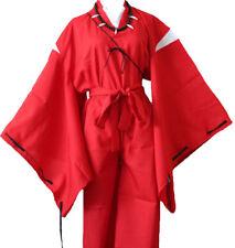 COSTUME COSPLAY KIMONO UOMO INUYASHA GIAPPONESE JAPANESE ANIME