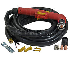 Air Plasma consumables plasma cutter S75 hand torch Complete 6M