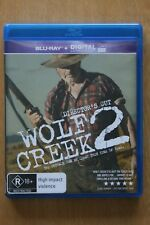 Wolf Creek 2 (Blu-ray, 2014)   Preowned (D219)