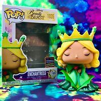 Enchantress 2021 Wondrous Con Exclusive Disney Beauty & the Beast Funko POP!