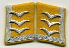 Luftwaffe FELDWEBEL Kragenspiegel collar tabs Flight Technical Sergeant mostrine