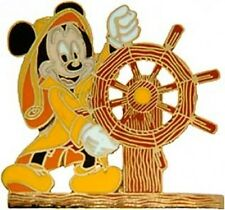 Disney Pin:  DCL Disney Cruise Line Cast Member Helmsman Mickey