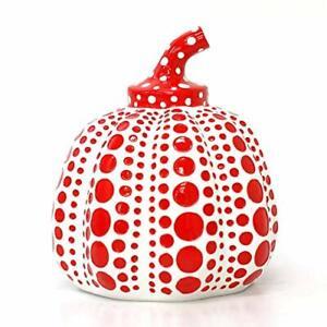 LAMMFROMM Yayoi Kusama Paperweight Object [Pumpkin (White)]Expedited Shipping