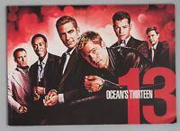 George Clooney Brad Pitt OCEAN' S THIRTEEN Japanese Movie Program