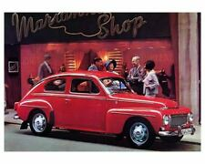 1965 Volvo 544 Coupe, RED, Flat Flexible Refrigerator Magnet, 40 Mil thick