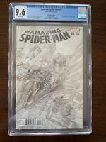 Amazing Spider-Man #1 CGC 9.6 (Marvel 2015)  Ross sketch variant.  Rare!