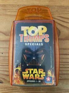 Top Trumps Specials - Winning Moves -  Star Wars Episode I-III