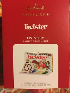 2021 Hallmark Hasbro Twister Family Game Night Ornament - 8th in the series NR