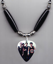 5 Seconds of Summer Band Photo Guitar Pick Necklace #3 5Sos