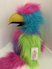 The Puppet Company Large Squawking Bird Of Paradise Parrot Macaw Hand Puppet Toy