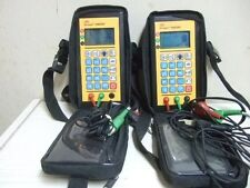 2 pcs FREE SHIPPING 3M Dynatel 946DSP Subscriber Loop Tester Leads Case 946 DSP