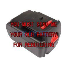 Rebuild service for PORTER-CABLE PC18BLEX 18-Volt Lithium-Ion battery 2.0A/H