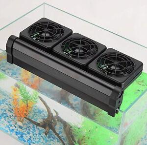 NEW Water World NO.WW-F3 Aquarium Fish Tank Cooling System Fan Set Of 3