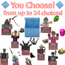 YOU CHOOSE! - Roblox Series 3 Mystery Box Toy Code Exclusive Online Item RARE
