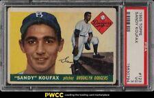 1955 Topps Sandy Koufax ROOKIE RC #123 PSA 3 VG