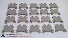 WEIDMULLER WDU 1,5/ZZ - PACK OF 20 - TERMINAL BLOCKS, 500V,, NEW* #217739