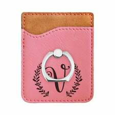 Custom Cell Phone Wallet / Credit Card Holder, Many Colors, Leatherette  #41008