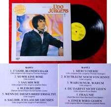 LP Udo Jürgens: Merci Cherie (Golden Label HEP HN 4391) NL 1981