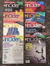 InCider - Lot Of 8 Issues From 1987! Jan, Feb, Mar, Apr, June, Sept, Nov & Dec