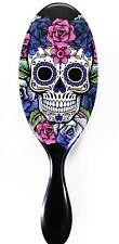 The Wet Brush Pro Detangle Hair Brush Sugar Skull Purple Rose