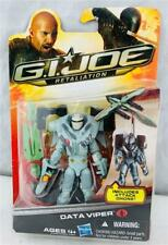 Hasbro 2010 GI Joe Retaliation Cobra Data Viper Exclusive MOSC