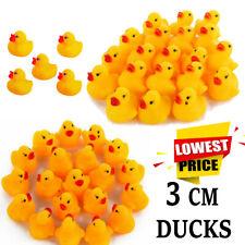 Mini Rubber Ducks Kids Baby Bath Water Bath time Play Toy High Bulk Quality