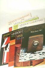 Vintage Cameras Magazine Vol 1 thru Vol 8