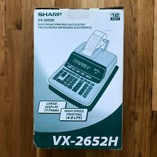 Sharp Compet Vx-2652H Electronic Printer Desktop Calculator Large Keys - New