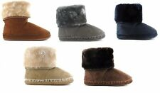 Ella Shoes Bootie Boot Slippers Warm Christmas Gift in a Presentation Box UK 3-8