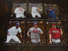 2009 Upper Deck Baseball---Starquest---Gold---Rares---Lot Of 6---See List