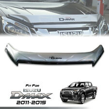 SILVER BUG GUARD PROTECTOR WIND SHIELD FIT FOR ISUZU D-MAX DMAX 2011 12 13 14 15