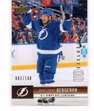 2012-13 UPPER DECK EXCLUSIVES#169 MARC-ANDRE BERGERON SER#82/100