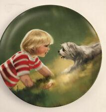 Pemberton & Oakes 1988 ''Making Friends'' Collectors Plate