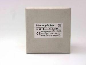 Klaus Pötter LED-Meldetableau LMT96-16.2 LM T 96-16.2 LED 5mm