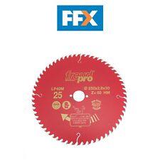 Disco para madera Widia Freud Ø 250 mm X cultivador y Sierra circular