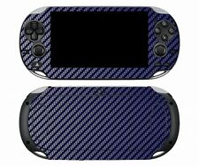 Blue Carbon Fiber Vinyl Decal Skin Sticker for Sony PlayStation PS Vita PSV