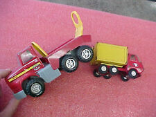 "F3 Vintage Tonka Dump Truck #55010 about 4 inches Nylint cement truck mixer 7"" L"