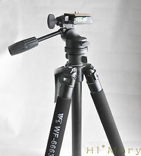 FANCIER FT-6663A Professionale Digital SLR Camera Tripod 3D HEAD 3 VIE