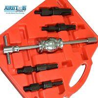 5pc Blind Hole Inner Bearing Puller Extractor Remover Set Slide Hammer 11-32mm