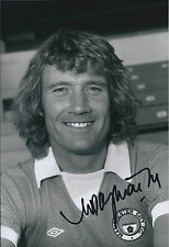 Rodney MARSH SIGNED Autograph 12x8 Photo AFTAL COA Manchester City Main Road