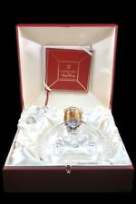REMY MARTIN LOUIS XII BACCARAT CRYSTAL COGNAC BRANDY ALCOHOL DECANTER CASE & BOX