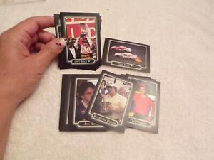 1990 Small Lot of Cards Maxx Race Cards