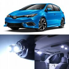 10 x Xenon White Interior LED Lights Package For 2016- 2017 Toyota iM Hatchback
