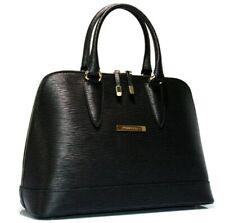 Cristiano Pompeo Italy handbag bag purse style alma leather epi all black gold