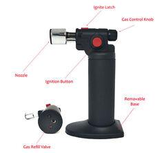 Jet Torch Gun Lighter 1300°C/2500°F Butane Refillable Cigar Lighter Handy