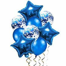 New Listing9Pcs Birthday Wedding Baby shower Party Star Heart Foil Confetti Latex Balloons�