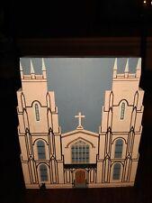 Trinity Episcopal Church Columbia South Carolina Wooden Shelf Sitter Cat's Meow